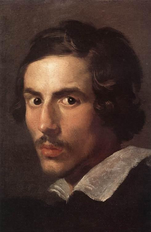 """Gian Lorenzo Bernini (1598, Napoli - 1680, Roma), """"Autoritratto da giovane"""" / """"Self-Portrait as a Young Man"""", ca. 1623, Olio su tela / Oil on canvas, Galleria Borghese, Roma"""