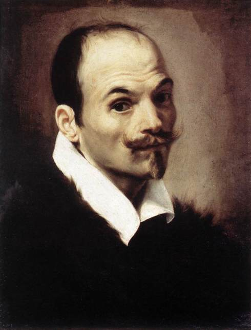 "Orazio Borgianni (1574, Roma - 1616, Roma) ""Autoritratto"" / ""Self-Portrait"", 1615, Olio su tela / Oil on canvas, 55 x 39 cm, Galleria Nazionale d'Arte Antica, Roma"