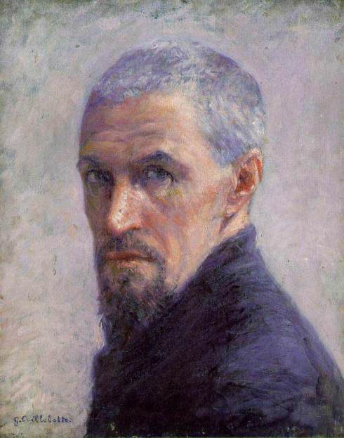 "Gustave Caillebotte (1848, Paris - 1894, Gennevilliers), ""Autoritratto"" / ""Self Portrait"", ca.1892, Olio su tela / Oil on canvas, 40.64 x 33.02 cm, Musée d'Orsay, Paris"