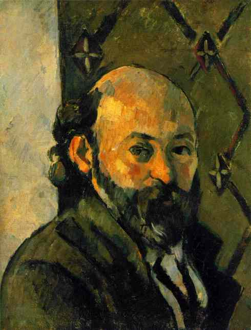 "Paul Cézanne (1839, Aix-en-Provence - 1906, Aix-en-Provence), ""Autoritratto"" / ""Self Portrait"", 1879-82, Olio su tela / Oil on canvas, 65 x 52 cm, Tate Gallery, London"