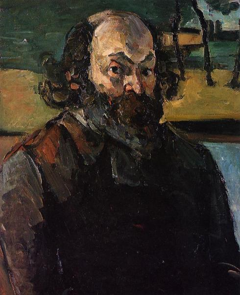 "Paul Cézanne (1839, Aix-en-Provence - 1906, Aix-en-Provence), ""Autoritratto"" / ""Self Portrait"", ca. 1873-76, Olio su tela / Oil on canvas, 65 x 52 cm, Musée d'Orsay, Paris"