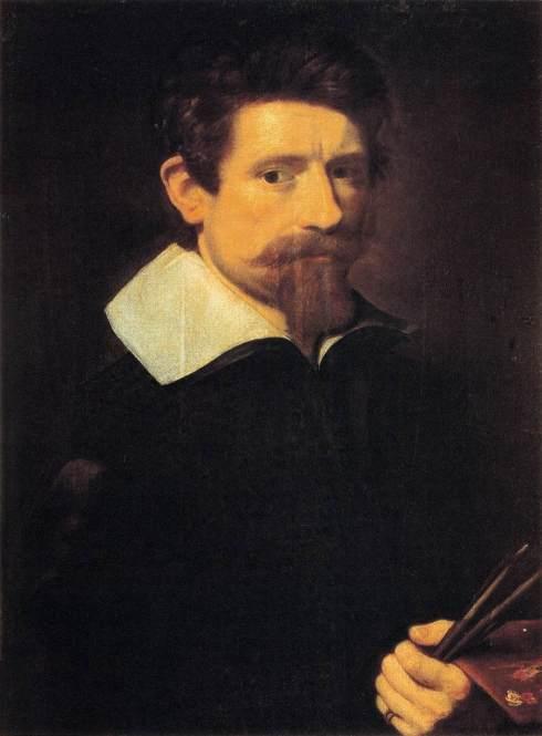 """Adam Elsheimer (1578, Frankfurt am Main - 1610, Roma), """"Autoritratto"""" / """"Self-Portrait"""", 1606-07, Olio su tela / Oil on canvas, 64 x 48 cm, Galleria degli Uffizi, Firenze"""