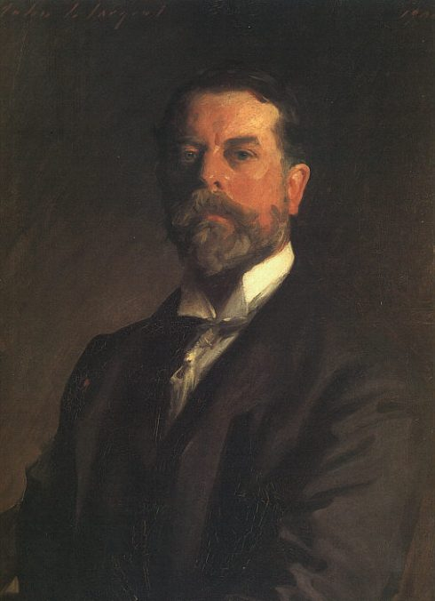 "John Singer Sargent (1856, Firenze -1925, London), ""Autoritratto"" / ""Self-Portrait"", 1906, Olio su tela / Oil on canvas, 76.2 x 63.5 cm, Galleria degli Uffizi, Firenze"