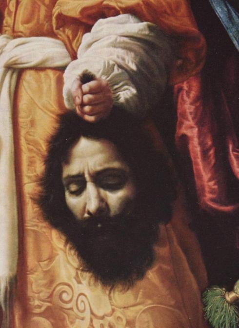 """Cristofano Allori, Autoritratto / Self Portrait, in """"Giuditta con la testa di Oloferne"""" / """"Judith with the Head of Holofernes"""""""