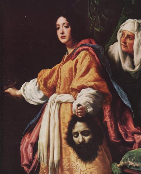 """Cristofano Allori (1577, Firenze - 1621, Firenze), """"Giuditta con la testa di Oloferne"""" / """"Judith with the Head of Holofernes"""", 1615, Olio su tela / Oil on canvas, 54.71 x 45.67, Palazzo Pitti, Firenze"""
