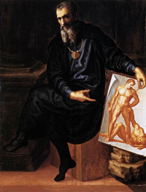 "Baccio Bandinelli (1488, Firenze - 1560, Firenze), ""Autoritratto"" / ""Self-Portrait"", ca. 1530, Olio su tela / Oil on canvas, 147 x 112 cm, Isabella Stewart Gardner Museum, Boston"