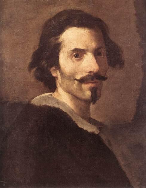 """Gian Lorenzo Bernini (1598, Napoli - 1680, Roma), """"Autoritratto da uomo maturo"""" / """"Self-Portrait as a Mature Man"""", 1630-1635, Olio su tela / Oil on canvas, Galleria Borghese, Roma"""