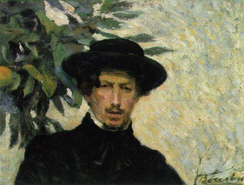 """Umberto Boccioni (1882, Reggio di Calabria - 1916, Verona), """"Autoritratto"""" / """"Self-Portrait"""", 1905, Olio su tela / Oil on canvas, 51.4 x 68.6 cm, Collection Lydia Winston Malbin, New York"""