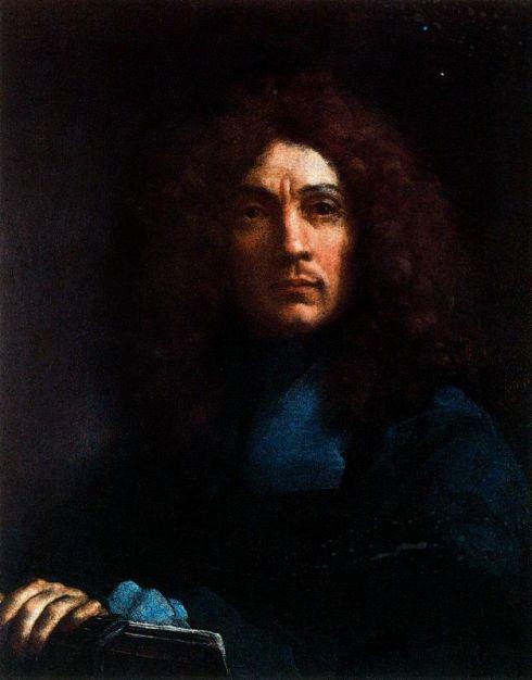 """Carlo Maratti (1625, Camerano - 1713, Roma), """"Autoritratto"""" / """"Self-Portrait"""", XVII secolo / Seventeenth Century, Olio su tela / Oil on canvas, 72.5 x 58.5 cm, Corridoio del Vasari, Galleria degli Uffizi, Firenze"""