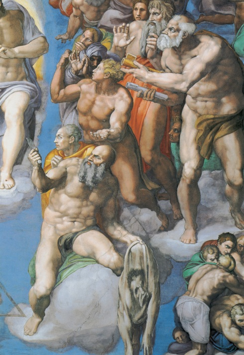 "Michelangelo, San Bartolomeo / Saint Bartholomew, dal / from ""Il Giudizio Universale"" / ""The Last Judgement"""