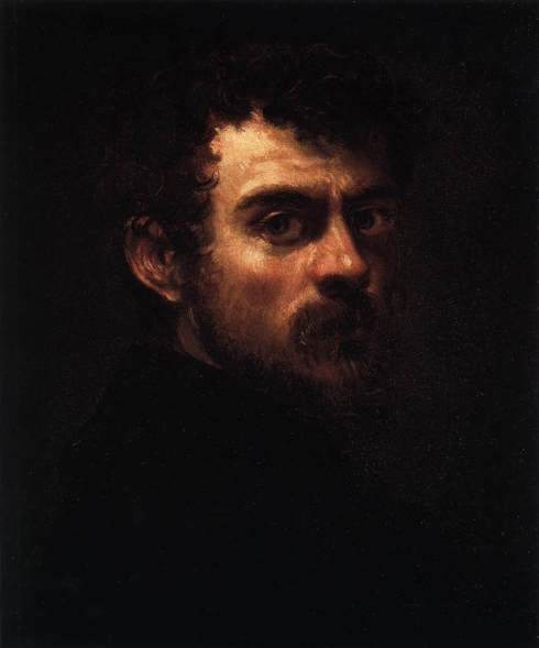 "Tintoretto (Jacopo Robusti, 1518, Venezia - 1594, Venezia), ""Autoritratto"" / ""Self-Portrait"", ca. 1547, Olio su tela / Oil on canvas, 46 x 38 cm, Museum of Art, Philadelphia"