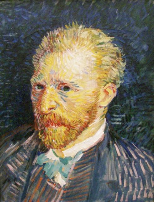 """Vincent Van Gogh (1853, Zundert - 1890, Auvers-sur-Oise), """"Autoritratto"""" / """"Self-Portrait"""", 1887, Olio su tela / Oil on canvas, 47.0 x 35.0 cm, Musée d'Orsay, Paris"""
