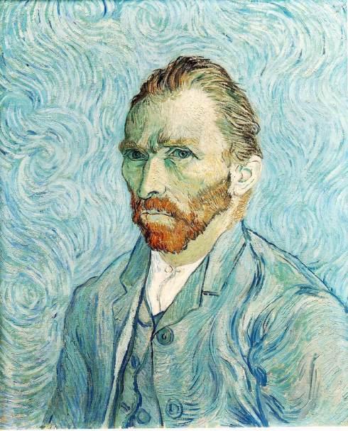 """Vincent Van Gogh (1853, Zundert - 1890, Auvers-sur-Oise), """"Autoritratto"""" / """"Self-Portrait"""", 1889, Olio su tela / Oil on canvas, 65 x 54 cm, Musée d'Orsay, Paris"""