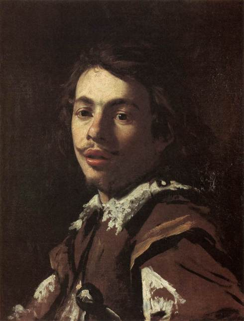 "Simon Vouet (1590, Paris - 1649, Paris), ""Autoritratto"" / ""Self-Portrait"", ca. 1615, Olio su tela / Oil on canvas, 64 x 48 cm, Musée Réattu, Arles"