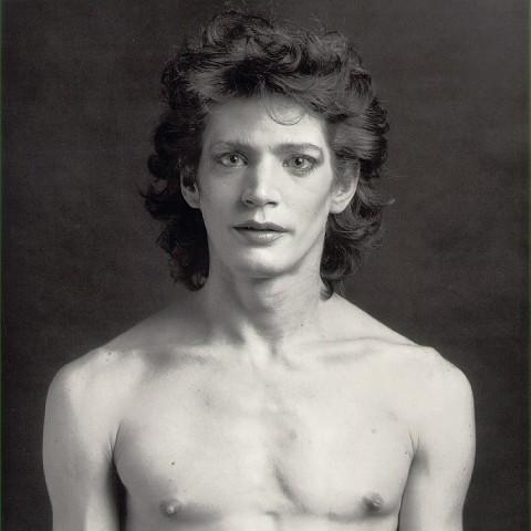 "Robert Mapplethorpe, ""Autoritratto"" / ""Self-Portrait"", fotografia / photography, 1980"