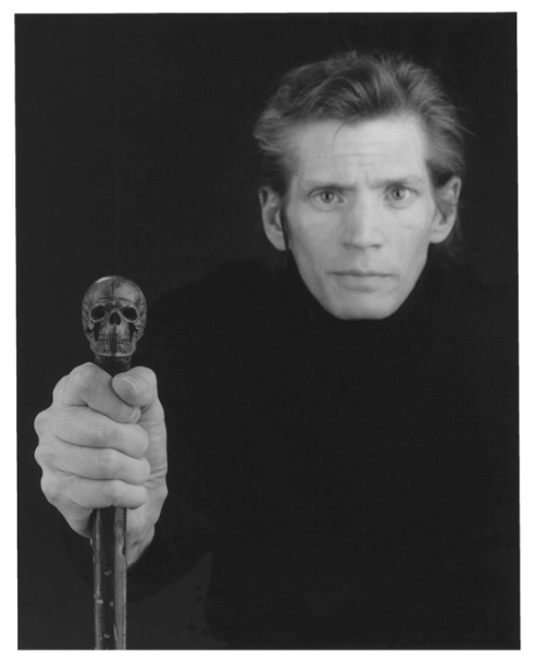 "Robert Mapplethorpe, ""Autoritratto"" / ""Self-Portrait"", fotografia / photography, 1988"