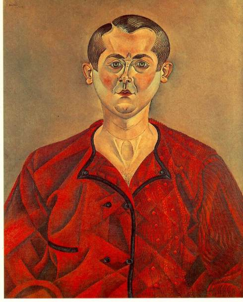 "Joan Miró i Ferrà (1893, Barcellona - 1983, Palma di Maiorca), ""Autoritratto"" / ""Self-Portrait"", 1919, Olio su tela / Oil on canvas, 73 x 60 cm, Musée Picasso, Paris"