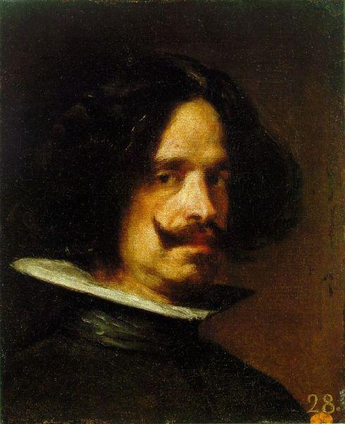 """Diego Rodriguez de Silva y Velázquez (1599, Sevilla - 1660, Madrid), """"Autoritratto"""" / """"Self-Portrait"""", ca. 1640, Olio su tela / Oil on canvas, 318 x 276 cm, Museo de Bellas Artes de San Pio V, Valencia"""